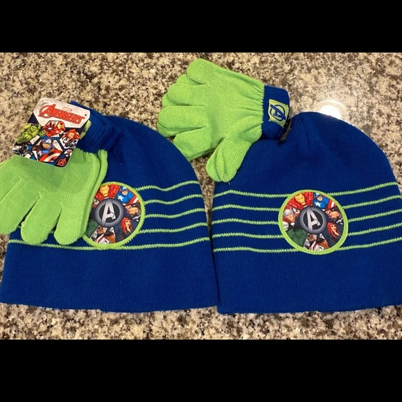 Gloves MARVEL Avengers Boys Set Beanies
